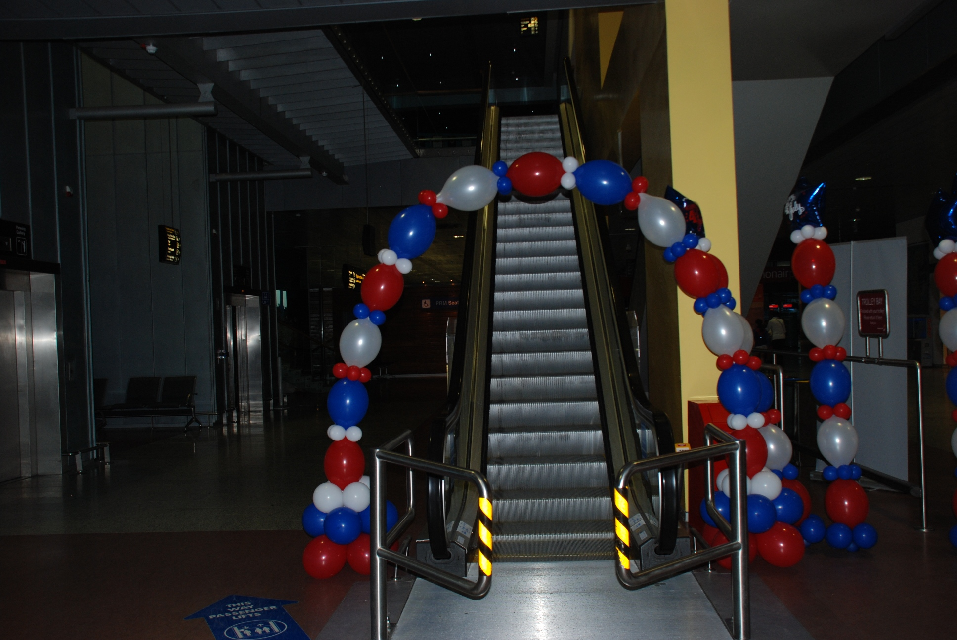 Balloon Arch Independence Day